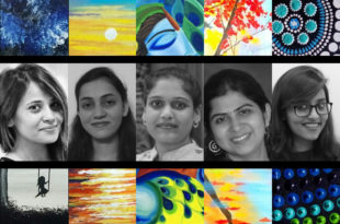 Tejashree Creations Exhibition Student Artist