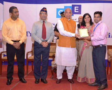 Mohit Kumar Singh - Skill Development Initiative Award - 2017