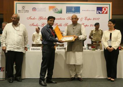 Mohit Kumar Singh - Student Services Award - 2017