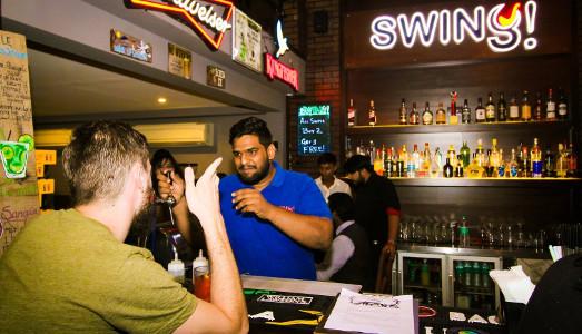 Devi Singh Bhati at Swing Cocktail Bar