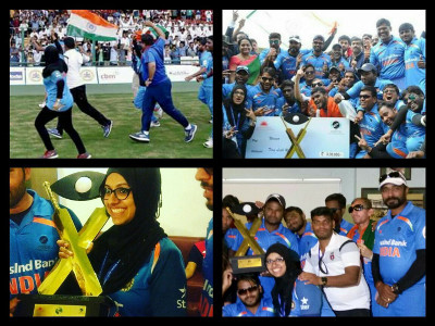 Dr. Masooma Ladiwala - Physical Therapist at T20 Cricket Worldcup for Blind 2017 - 2