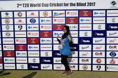Dr. Masooma Ladiwala - Physical Therapist at T20 Cricket Worldcup for Blind 2017 - 3