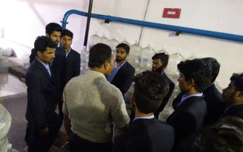 Professor Srinivas Gunda - Aqua Fina Plant Tour