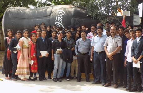 Professor Srinivas Gunda - Coca Cola Plant Tour 2