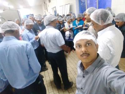 Professor Srinivas Gunda - Coca Cola Plant Tour