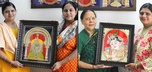 Swarna Raja Kochi Tanjore Art Classes
