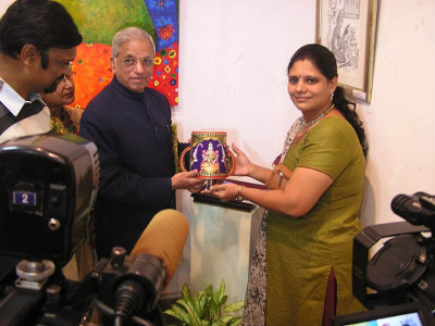 Swarna Raja Kochi - Tanjore Art Exhibition - Appreciation by Dignitaries