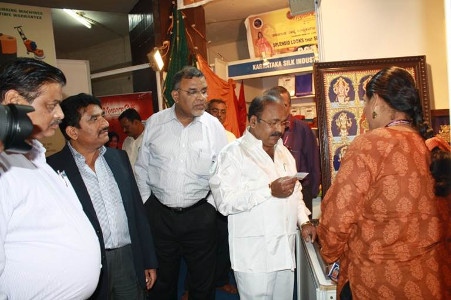 Swarna Raja Kochi - Tanjore Art Exhibition - Appreciation by Dignitaries 4