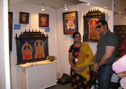 Swarna Raja Kochi - Tanjore Art Exhibition - Appreciation by Dignitaries 5