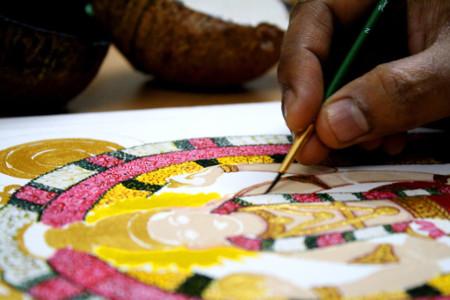 Swarna Raja Kochi Tanjore Art Studio Artwork 4