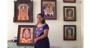 Swarna Raja Kochi Tanjore Art Studio Bengaluru