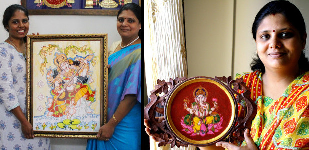 Swarna Raja Kochi - Tanjore Art Studio - Other Styles
