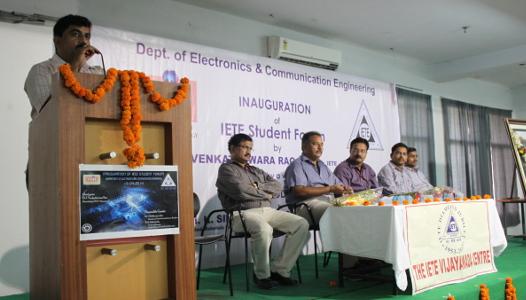 Yaswant Bhanu Murthy - Inauguration of IETE Student Forum
