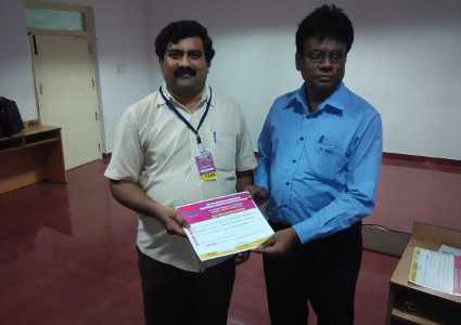 Yaswanth Bhanu Murthy - Best Conference Paper Award in IEEE Conference at Coimbatore Dec 2014