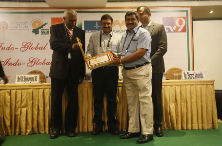Yaswanth Bhanu Murthy - Indus Foundation Award for Teaching Excellence - Hyderabad 2017