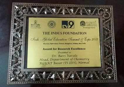 Dr Ravi Varala Indus Foundation Award