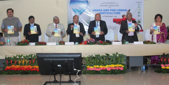 Dr Alka Singh - National workshop on Urban Periurban Horticulture, Dec 2013 NAU Navsari