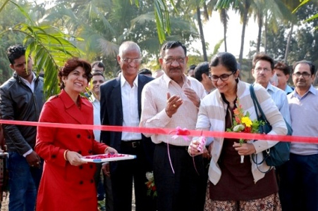 Dr Alka Singh - Training and Opening of ornamental plant exhibition and Plant sale