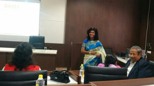 Dr Priyanka Kacker - BEOS training to CBI