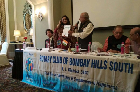 Komal Shah - Kundalini Healing - Felicitation at Rotary Club