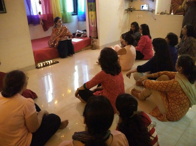 Komal Shah - Kundalini Healing - Workshop in her studio 2