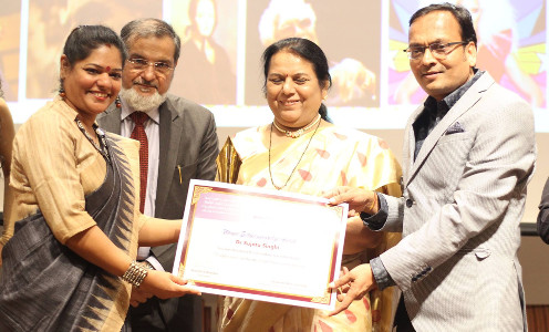 Sujata Singhi - Bharat Nirman Award - Apr 2017