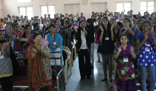 Sujata Singhi - Seminar for SNDT University students on Women - the power within - Sep 2014