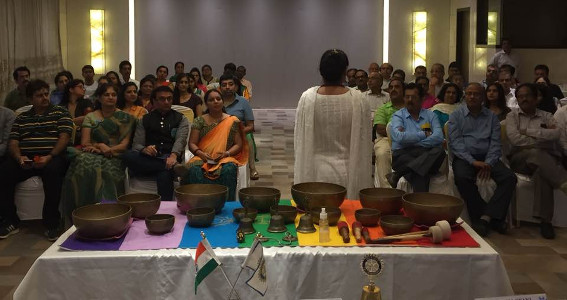Sujata Singhi - Session for Rotary Club in Mumbai - Sep 2017