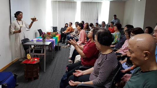 Sujata Singhi - Session in Singapore - Dec 2017