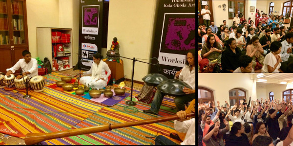 Sujata Singhi - Sound healing workshop - Kalaghoda Art festival 2018