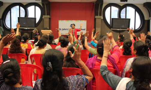 Sujata Singhi - St Johns Universal School - Seminar using NLP Techniques - Jun 2015 - 2