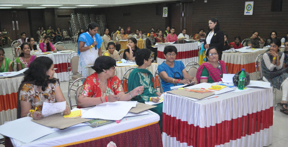 Sujata Singhi - Training to Education Department, Mumbai - Oct 14