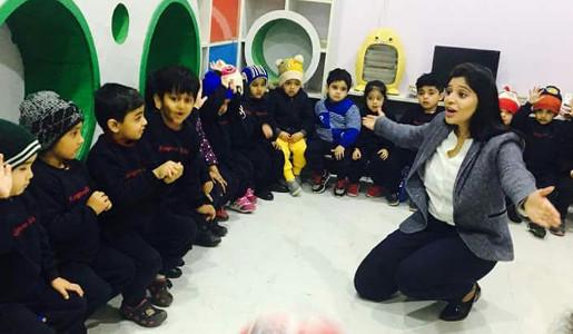 Palak Tiwari - Kangaroo Preschool Gwalior