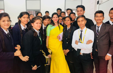 Palak Tiwari - Life Skills Coaching - Model School