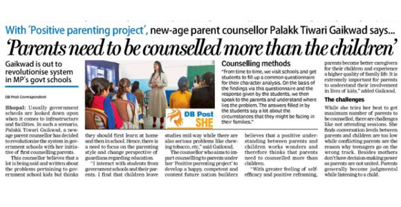 Palak Tiwari - Positive Parenting Project