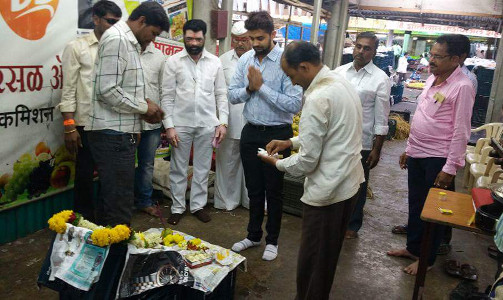 Rohan Ursal - Orange first arrival puja