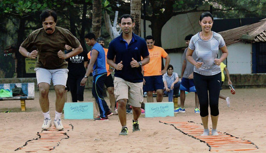 Sunil Fitness Wave - Beach Workout 2