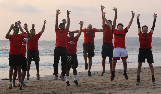Sunil Fitness Wave - Beach Workout 3