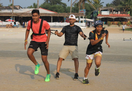 Sunil Fitness Wave - Beach Workout 8