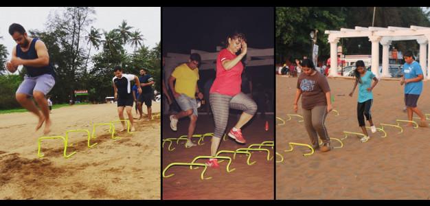Sunil Fitness Wave - Beach Workout 9