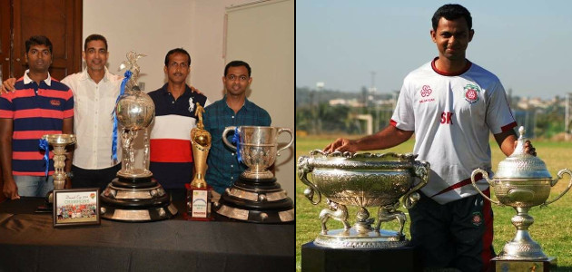 Sunil Karmalkar - Salgaocar FC Team Awards