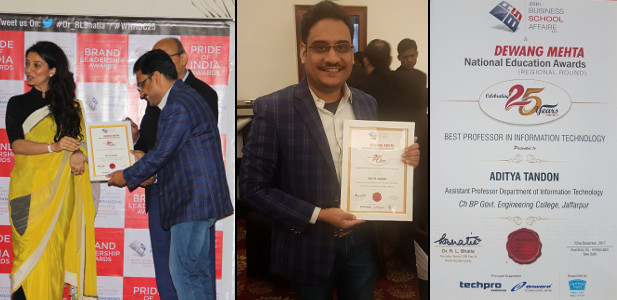 Aditya Tandon Business School Affaire and Dewang Mehta National Education Award