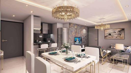 Studio Apartment Interior Design by SDA Designs