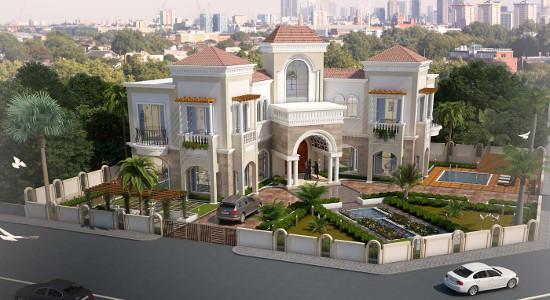 Luxury Villa Design by SDA Designs