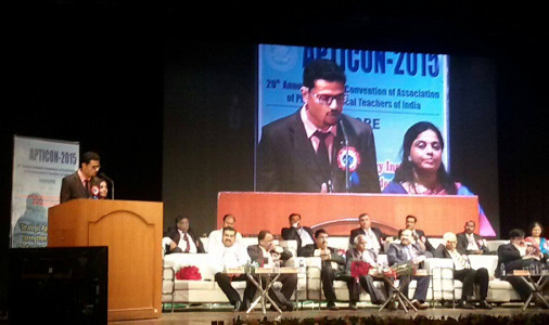 Dr Neetesh Jain hosting Annual convention APTICON 2015