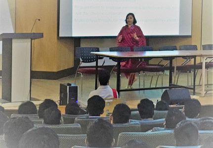 Alka Purohit - Seminar for BE Mech and Auto students