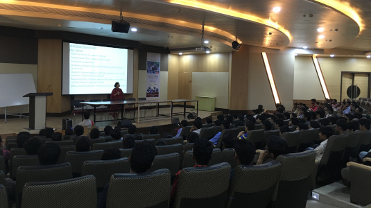 Alka Purohit - Seminar on importance of Corporate readiness - Placement guidelines for BE students
