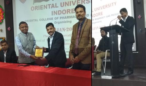 Amit Ratn Gangwal Jain - Srijan 2018 - Oriental University Indore