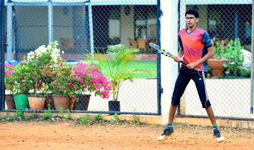 Raviteja D S S - GVP CoE - Tennis