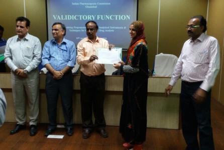 Tasneem Ara IPC Ghaziabad Valedictory Function